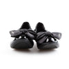 Prada Sport Black Patent Leather Ballet Flats