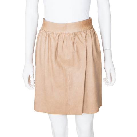 Alice + Olivia Leather Mini Skirt