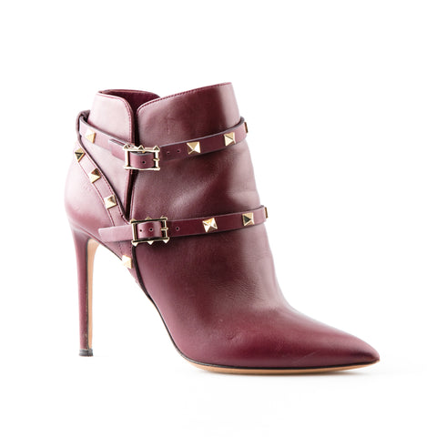 e91675f9969c Valentino Rockstud Ankle Boots with Ankle Straps – SuiteAdore