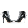 Gianvito Rossi Lace Up Leather Ankle Boots