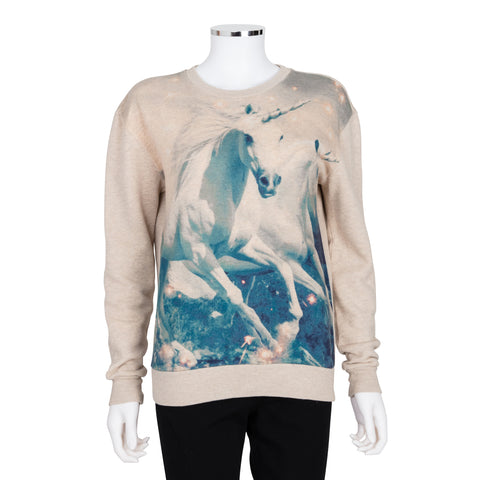 Stella McCartney Unicorn Print Sweatshirt