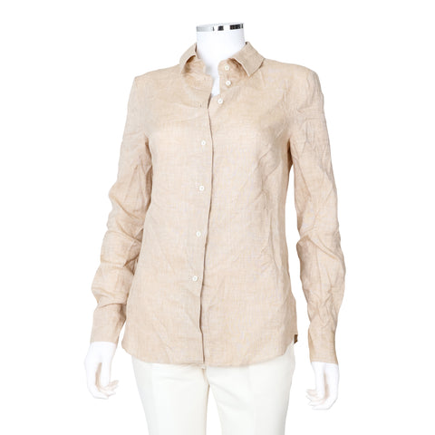 Altuzarra 'Adams' Linen Long Sleeve Shirt