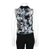 Erdem 'Franny' Floral Printed Silk Crop Top