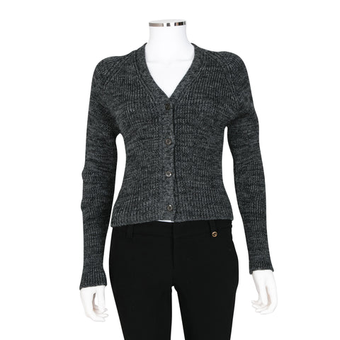 Prada Dark Grey Cardigan