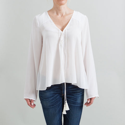 Elizabeth and James NEW 'Draven' Front Tie Blouse