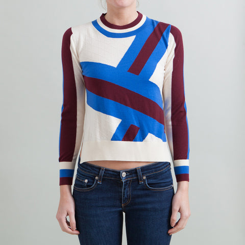 Tanya Taylor Striped Sweater