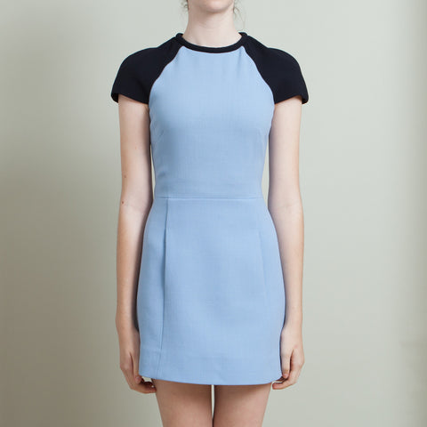 Victoria by Victoria Beckham Two-Toned Dress