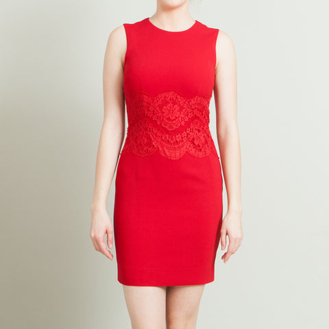Dolce & Gabbana Red Sleeveless Dress