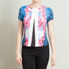 Peter Pilotto Blue Graphic Print Shirt