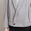 Haider Ackermann Heather Grey Wool Blazer Jacket