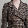 Dolce & Gabbana Herringbone and Check Print Wool Jacket