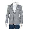 Dolce & Gabbana Single Breasted Blazer with Black Piping