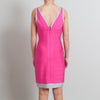 Herve Leger Pink Sleeveless Bandage Dress