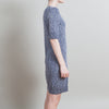 Gucci Metallic Blue Sweater Dress