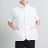 Burberry White Quilted Vest