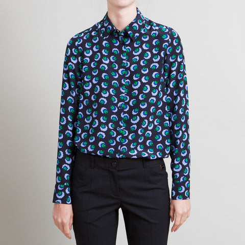 Stella McCartney Black Printed Blouse