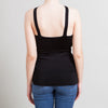 Gucci Black Halter Top with Gold Plated Piece