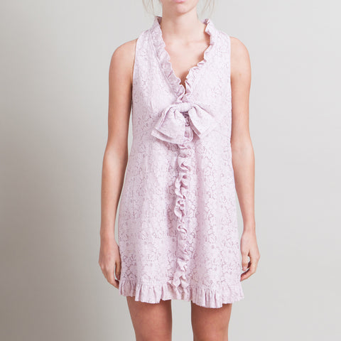 Marc by Marc Jacobs Sleeveless Lilac Lace Dress