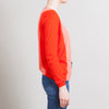 Fendi Orange Cashmere Cardigan