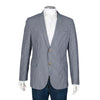 Gucci Navy Blue Pinstriped Blazer