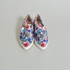 Miu Miu Peonia Flower Print Slip-on Sneakers