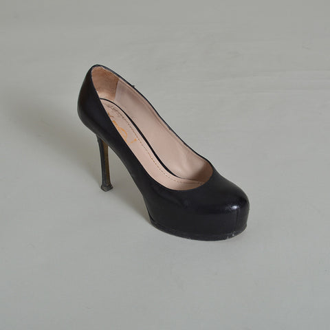 Yves Saint Laurent Black Tribute Pumps