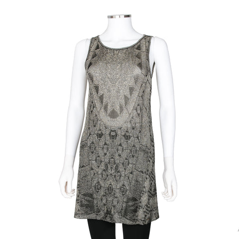 Chanel Sleeveless Knit Mini Dress