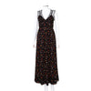 RED Valentino Starfish Printed Silk Maxi Dress