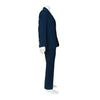 Gucci Navy Blue Men's Wool Blend Suit