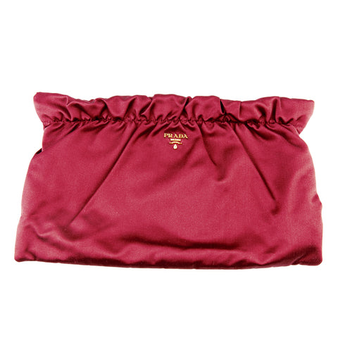 Prada Silk Clutch