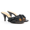 Yves Saint Laurent Mid-heel Sandals With Bow