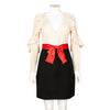 Gucci Ruffled Trim Dress with Bow
