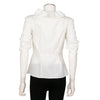 Giambattista Valli Ruffle Trim with Grosgrain Tie Top