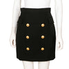 Balmain Skirt with Gold Buttons