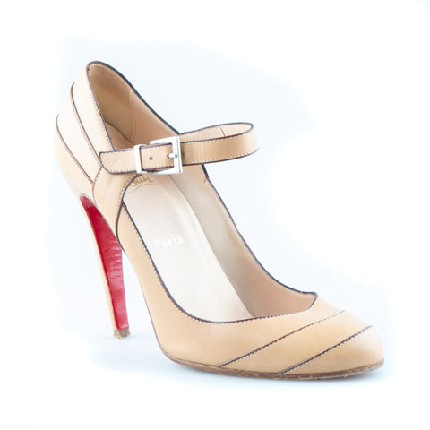 official photos 6dff9 d4c3d Christian Louboutin Mary Jane Pumps – SuiteAdore