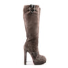 Christian Louboutin Harletty 140mm Suede Knee Boots