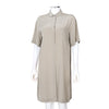 Maison Martin Margiela Beige Shirt Dress