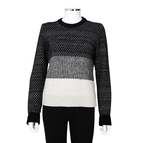 Proenza Schouler Mixed Knit Pullover Sweater