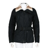 Prada Sport Black Jacket With Goat Fur