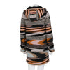 Missoni Multi-Coloured Knit Jacket with Removable Hood