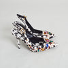 Dolce & Gabbana Pony Hair Embellished Slingbacks