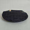 Gucci Black Canvas Horsebit Hobo Bag