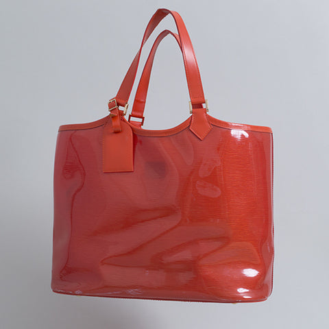 Louis Vuitton Plage Lagoon Orange Tote Bag