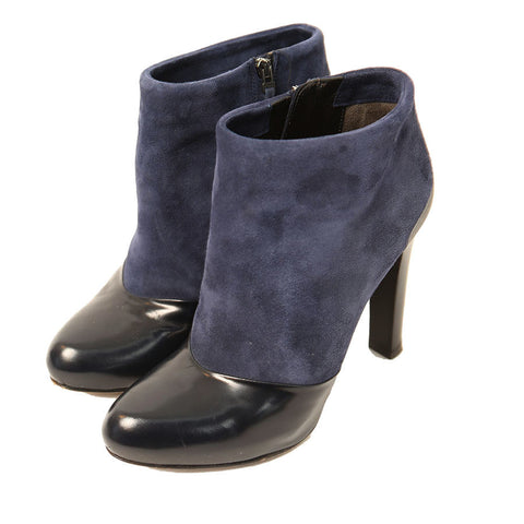 Fendi Blue & Black Booties