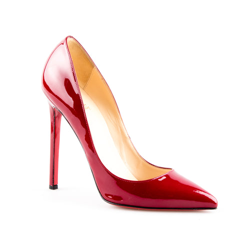 Christian Louboutin 'So Kate' Patent Leather Stiletto Pumps