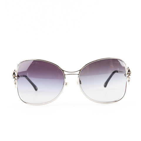 Chanel 4180 Metal Frame Oversized Sunglasses
