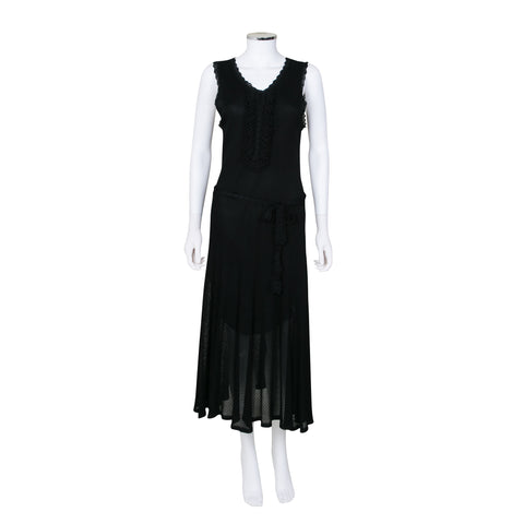 Andrew GN Sleeveless Mid Length Dress