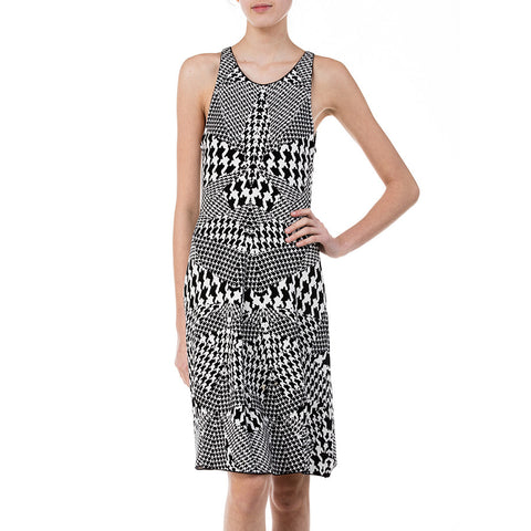 McQ by Alexander McQueen Houndstooth Dress