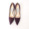 Prada Purple Suede Platform Pumps