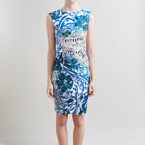 Emilio Pucci Printed Sleeveless Dress